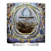 Prayer Of Protection Shower Curtain