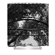 Prayer Well Shower Curtain