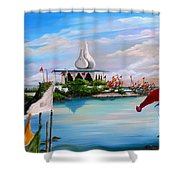 Prayers At Waterloo Shower Curtain