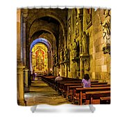 Prayers In The Cathedral Shower Curtain