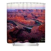 Dawn At Dead Horse Point Shower Curtain