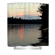 Pre-sunrise Shower Curtain