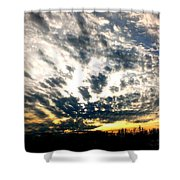 Pre-sunset Shower Curtain