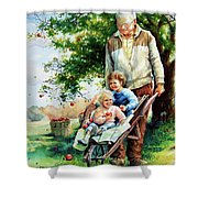 Precious Cargo Shower Curtain