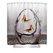Precious Shower Curtain