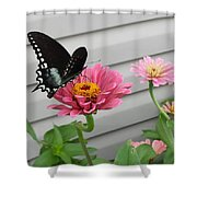 Precious Pinks Shower Curtain