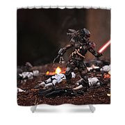 Predator Sith Shower Curtain