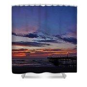 Predawn Avon Pier 1 4/10 Shower Curtain