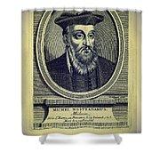 Predictions Of Nostradamus 4 Shower Curtain