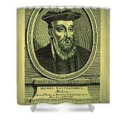 Predictions Of Nostradamus 2 Shower Curtain