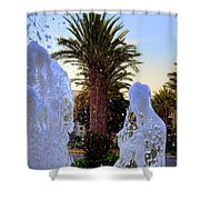 Pregnant Water Fairy Shower Curtain