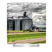 Premier Grain - Ganado, Tx Shower Curtain