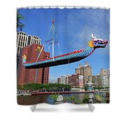 Preparation For The 2016 Dragon Boat Festival Shower Curtain