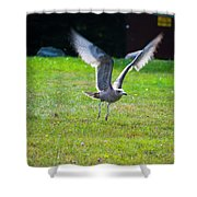 Prepare For Landing Shower Curtain