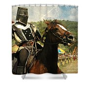 Prepare The Joust Shower Curtain