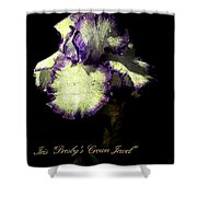 Presby's Crown Jewel Iris  Shower Curtain