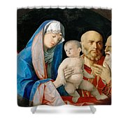 Presentation Of Christ In The Temple Shower Curtain