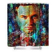 President Andrzej Duda Portrait Shower Curtain