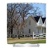 President Dewight Eisenhower Birthplace Shower Curtain