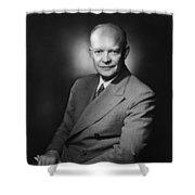 President Dwight Eisenhower - Three Shower Curtain