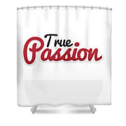 True Passion Shower Curtain