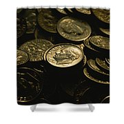 President Franklin Roosevelts Profile Shower Curtain