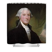President George Washington Shower Curtain