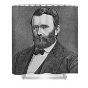 President Grant Shower Curtain