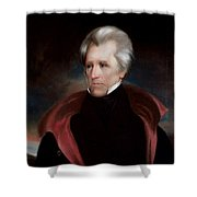 President Jackson Shower Curtain