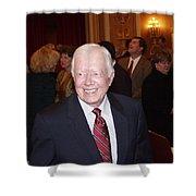 President Jimmy Carter - Nobel Peace Prize Celebration Shower Curtain