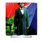 President Lincoln Shower Curtain