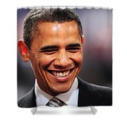 President Obama Iv Shower Curtain