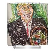 President Trump Shower Curtain