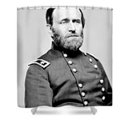 President Ulysses S Grant In Uniform Shower Curtain by International  Images
