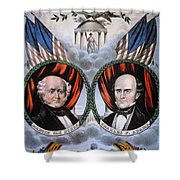 Presidential Campaign, 1848 Shower Curtain