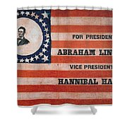 Presidential Campaign, Shower Curtain