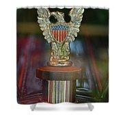 Presidential Hood Ornament Shower Curtain