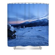 Presidential Range - White Mountains  New Hampshire Usa Shower Curtain