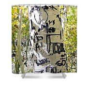 Presidential Tree Shower Curtain