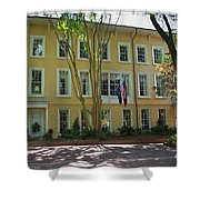 President's Residence University Of South Carolina Shower Curtain