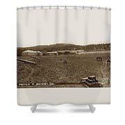Presidio Of Monterey, Cal. Circa 1910 Shower Curtain