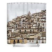 Pretoro - An Ancient Village  Shower Curtain