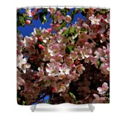 Pretty Blossoms Shower Curtain