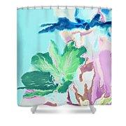 Pretty Bouquet A09z Shower Curtain