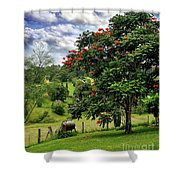 Pretty Countryside Shower Curtain