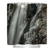 Pretty In Ice Shower Curtain