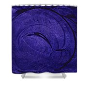 Pretty In Purple Shower Curtain
