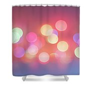 Pretty Pastels Abstract Shower Curtain