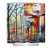 Pretty Rain Shower Curtain