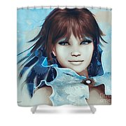 Pretty Smile Shower Curtain